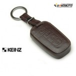 [KEINZ] HYUNDAI - Smart Key Leather Pouch Egg Key Holder (4 Buttons)