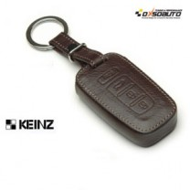 [KEINZ] KIA - Smart Key Leather Pouch Egg Key Holder (4 Buttons)