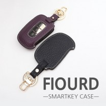 [BDSA] HYUNDAI - FIOURD Smart Key Leather Key Holder (3 Buttons)