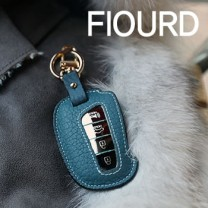 [BDSA] Hyundai Santa Fe DM - FIOURD Smart Key Leather Key Holder
