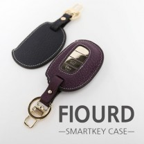 [BDSA] HYUNDAI - FIOURD Smart Key Leather Key Holder (TYPE 2)