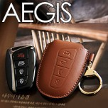 [AEGIS] Hyundai 5G Grandeur HG - Smart Key Leather Key Holder SEASON 1 (with Strap)