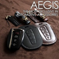 [AEGIS] Hyundai MaxCruz -  Smart Key Leather Key Holder SEASON III