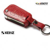 [KEINZ] HYUNDAI - Folding Key Leather Key Holder (3 Buttons)