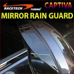 [RACETECH] Chevrolet Captiva - Side Mirror Rain Guard