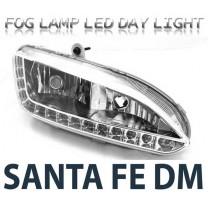 [LEDIST] Hyundai Santa Fe DM - LED Fog Lamps and DRL 2WAY (EURO STYLE)