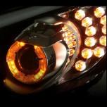 LED-кольца CC Power Daylight Apha (бело-желтые) - KIA K3 (XLOOK)