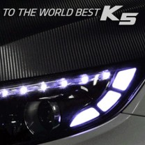 [EXLED] KIA The New K5 - LED Front Side Reflector 2 Way Upgrade Modules