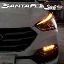[EXLED] Hyundai Santa Fe The Prime - 2Way Sequential DRL UPGRADE LED Modules