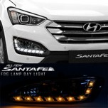 [LEDIST] Hyundai Santa Fe DM - LED 2Way DRL Fog Lamps Modules (PG Block)