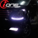 [IONE] Hyundai Grand Starex - LED Audi-Line TF Version Headlights Modules DIY Kit
