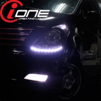 [IONE] Hyundai Grand Starex - LED Audi-Line TF Version Headlights Modules DIY Kit