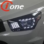 LED-модули передних фар Audi-Line (TF Ver) - SsangYong Korando Sports (IONE)