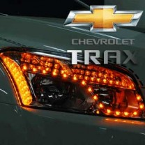 [EXLED] Chevrolet Trax - Front Reflector LED 2Way Modules DIY Kit