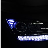 [EXLED] KIA Mohave - Front Reflector LED 2Way Modules DIY Kit