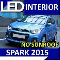 [LEDIST] Chevrolet The Next Spark - Interior Lighting LED Modules Full Kit (NORMAL)