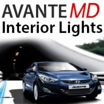 [GOGOCAR] Hyundai Avante MD - Premium LED Interior Light Module Set