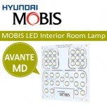 [MOBIS] Hyundai Avante MD - LED Interior Lighting Modules Set