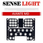 [SENSELIGHT] Hyundai Avante MD - LED Interior Lighting Modules Set