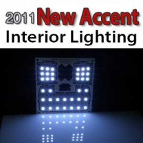[GOGOCAR] Hyundai New Accent - Premium LED Interior Light Module Set
