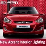 [SOLARZEN] Hyundai New Accent - LED Interior Lighting Modules Set