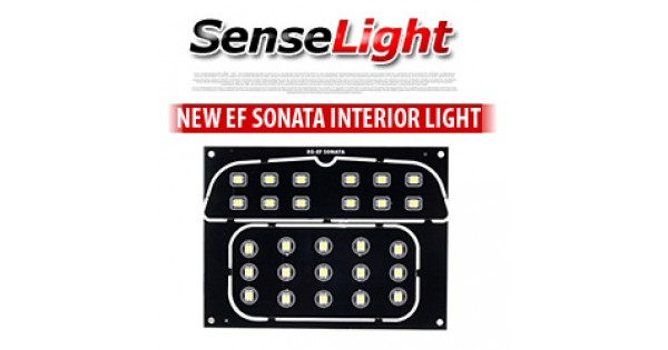Sonata Ef Sense Light Hyundai New Ef Sonata Led Interior Lighting Modules Set