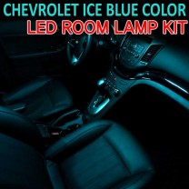 [BRICX] Chevrolet - Ice Blue LED Interior Light Module Set