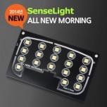 [SENSE LIGHT] KIA All New Morning 2014 - LED Interior Lighting Module Set