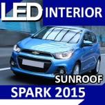 [LEDIST] Chevrolet The Next Spark - Interior Lighting LED Modules Full Kit (SUN)