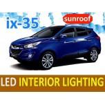 [LEDIST] Hyundai Tucson iX - Interior Lighting LED Modules Full Kit (sunroof)