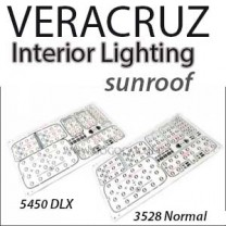[GOGOCAR] Hyundai Veracruz (Sunroof Ver.) - Premium LED Interior Light Module Set