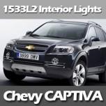 [EXLED] Chevrolet Captiva - Power LED Interior Light Module Set