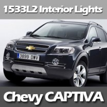 [EXLED] Chevrolet Captiva - Power LED Interior Light Module Set