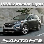 [EXLED] Hyundai Santa Fe DM / MaxCruz - Power LED Interior Light Module Set Ver.2 (Sunroof)