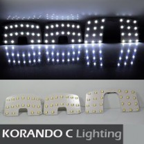[GOGOCAR] SsangYong Korando C - Premium LED Interior Light Module Set