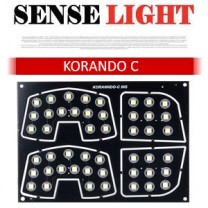 [SENSELIGHT] SsangYong Korando C​ - LED Interior Lighting Modules Set