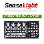[SENSELIGHT] SsangYong Korando Turismo/Rodius - LED Interior Lighting Modules Set