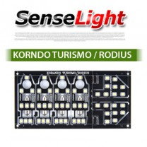 [SENSELIGHT] SsangYong Korando Turismo/Rodius - LED Interior Lighting Modules Set