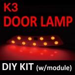 [GOGOCAR] KIA K3 - LED Door Lamp Modules Set
