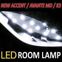 [BRICX] Hyundai New Accent / Avante MD / KIA K3 - LED Lighing Modules Fll Set