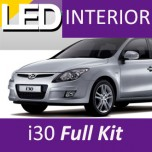 [LEDIST] Hyundai i30 - LED Interior & Exterior Lighting Full Kit