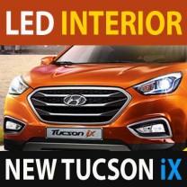 [LEDIST] Hyundai New Tucson iX - LED Interior Lighting Full Kit