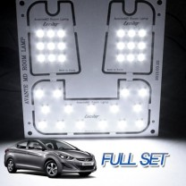 [LEDIST] Hyundai The New Avante MD - LED Interior Lighting Full Kit