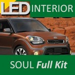 [LEDIST] KIA Soul - LED Interior & Exterior Lighting Full Kit
