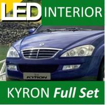 [LEDIST] SsangYong Kyron - LED Interior & Exterior Lighting Full Kit