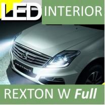 [LEDIST] SsangYong Rexton W - LED Interior & Exterior Lighting Full Kit