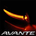 [EXLED] Hyundai Avante MD - LED Side Repeater 2Way Upgrade Modules