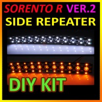 [GOGOCAR] KIA Sorento R - Side Mirror LED Repeater Ver.2 (Block Type) Modules DIY Kit