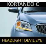 [EXLED] SSangYong Korando C - LED Devil Eye Eyeline 2-Way PG-Block Module DIY Kit