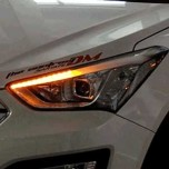 [EXLED] Hyundai Santa fe DM / KIA K3 - Power LED 2Way Sequential Eyeline Upgrade Modules